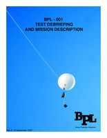 The Test Debriefing and Mission Description for BPL-001, which involved depositing the remains of Conrad Carpenter in the Troposphere above Wales via Nanosatellite.  Click here for more information.